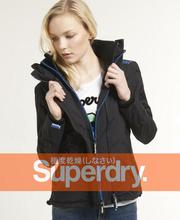 Superdry 極度乾燥 女款 Hooded Technical Windcheater 網眼風衣夾克