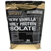 [iHerb] [iHerb] California Gold Nutrition Whey Protein Isolate, Very Vanilla, 2 lbs (908 g)
