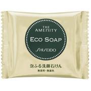 日本SHISEIDO資生堂 THE AMENITY ECO SOAP泡泡洗顏皂 10g ★JP&Beauty shop★