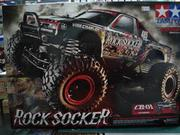 田宮TAMIYA 1/10攀岩車 ROCK SOCKER CR-01#58592大全套