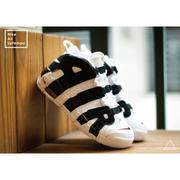 ISNEAKERS Nike Air More Uptempo Gs 白黑 大AIR 熊貓 415082-105