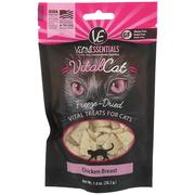 [iHerb] Vital Essentials, Vital Cat, Freeze-Dried Treats For Cats, Chicken Breast, 1.0 oz (28.3 g)
