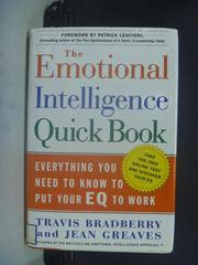【書寶二手書T3/心靈成長_NRX】The Emotional Intelligence Quick Book