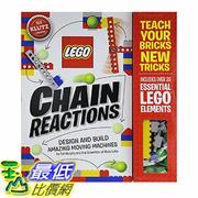 [106美國直購] 2017美國暢銷書 Klutz LEGO Chain Reactions Craft Kit
