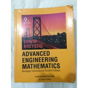 advanced engineering mathematics 工程數學