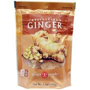 [iHerb] [iHerb] The Ginger People Gin·Gins, Crystallized Ginger, 3.5 oz (100 g)