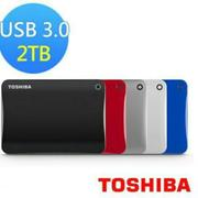 【TOSHIBA】Canvio Connect II V8 2TB USB3.0(白) 2T 2.5吋行動硬碟