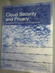 【書寶二手書T3/大學資訊_ZDK】Cloud Security and Privacy: An Enterprise
