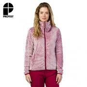 【PROTEST】女 保暖外套 (蘿蔔紅) DONNELLY FULL ZIP TOP