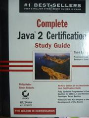 【書寶二手書T2/大學資訊_PNH】Cpmplete Java 2 Certification_3/e_有CD