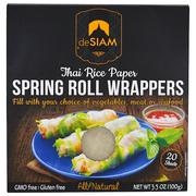 [iHerb] deSIAM, Thai Rice Paper, Spring Roll Wrappers, 20 Sheets, 3.5 oz (100 g)