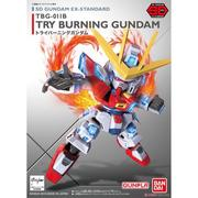 ◆弘德模型◆ SD EX-STANDARD 011 TRY燃燒鋼彈 Try Burning Gundam創鬥者