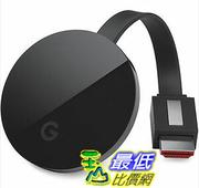 [美國直購] Google - Chromecast Ultra – Black