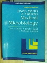 【書寶二手書T8/大學理工醫_RHN】Medical Microbiology_Geo F Brooks等_1991年