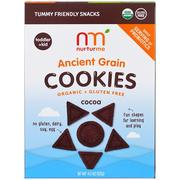 [iHerb] NurturMe, Organic Ancient Grain Cookies, Toddlers & Kids, Cocoa, 4.3 oz (122 g)