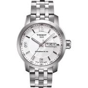 【TISSOT】PRC200 Powermatic 80 時尚機械腕錶-銀(T0554301101700)
