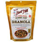 [iHerb] Bob's Red Mill, Honey Oat Granola, Gluten Free, 12 oz (340 g)