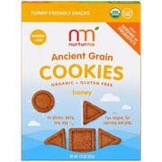 [iHerb] NurturMe, Organic, Ancient Grain Cookies, Toddlers & Kids, Honey