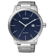 CITIZEN Eco-Drive光動能都會腕錶-藍/43.8mm BM6960-56L