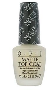 【彤彤小舖】OPI Matte Top Coat 薄霧森林霧面護甲油 15ml NTT35