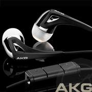 AKG K350 High Performance In-ear headset黑色iPhone耳機