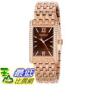 [103美國直購] Caravelle New York Women's 44L120 Analog Rose Gold Dress Watch 女士手錶 $2992