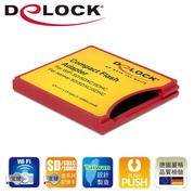 Delock SD card系列to CF card Type II轉接卡-62542