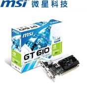 MSI微星 GeForce® N610GT-MD1GD3/LP 顯示卡