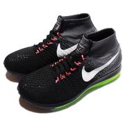 NIKE 慢跑鞋 Wmns Zoom All Out Flyknit 編織氣墊 黑灰 女鞋 W [845361-002]