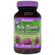 [iHerb] Bluebonnet Nutrition, Milk Thistle Fruit & Seed Extract, 120 Vcaps