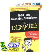 [美國直購 ShopUSA] TI-84 計算機使用指南288頁 TI-84 Plus Graphing Calculator for Dummies [Paperback] $799