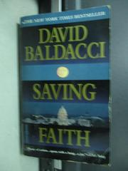【書寶二手書T7/原文小說_KBB】David baldacci saving faith_1999