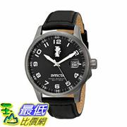 [104美國直購] 男士手錶 Invicta Men's 15256 I-Force Gunmetal Ion-Plated Stainless Steel and Black Leather Strap Watch