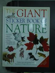 【書寶二手書T9/少年童書_QFW】The Giant sticker…Nature