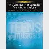 The Giant Book of Songs for Teens from Musicals: Young Men's Edition: 50 Songs from 38 Shows and Films