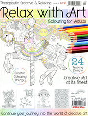 Relax with Art 第4期:Creative Coloring Theropy