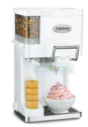 [美國直購] 冰淇淋機 Cuisinart ICE-45 Mix It In Soft Serve 1-1/2-Quart Ice-Cream Maker Color: White