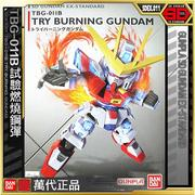 【魂商】BANDAI SD鋼彈 EX-STANDARD 011 TRY BURNING GUNDAM 試驗燃燒鋼彈