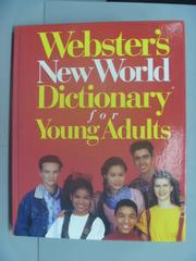 【書寶二手書T9/字典_ZDB】Webster's New World Dictionary for Young Adu