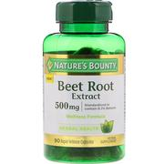 [iHerb] Nature's Bounty, Beet Root Extract, 500 mg, 90 Rapid Release Capsules