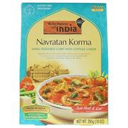 [iHerb] [iHerb] Kitchens of India Navratan Korma, Mixed Vegetable Curry with Cottage Cheese, Mild, 10 oz (285 g)