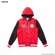 SQUAD A/W Hooded Windbreaker Jacket 貼布連帽風衣外套 XS號