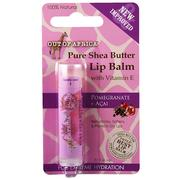 Out of Africa, Lip Balm, Pure Shea Butter, Pomegranate + Acai, 0.15 oz (4 g)