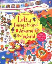 Usborne Lots of things to spot Around the World 尋找遊戲貼紙書-世界 *夏日微風*