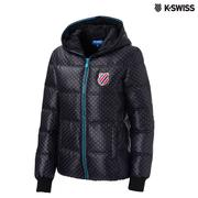 K-Swiss Quilted Down Jacket羽絨外套-女-黑