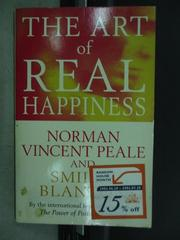 【書寶二手書T3/原文小說_JAZ】The art of real happiness_2000