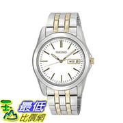 [美國直購] 男士手錶 Seiko SGGA45 Mens Stainless Steel Dress White Dial