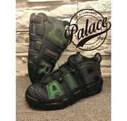 NIKE AIR MORE UPTEMPO 922845 001 反光大AIR  23~25