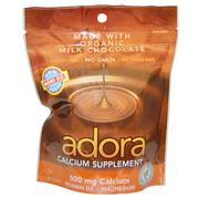 Adora, Calcium Supplement, Milk Chocolate, 30 Disks