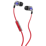 Skullcandy Smokin Buds 2 耳機 帶線控與咪 Spaced Out Red S2PGGY-391 香港行貨